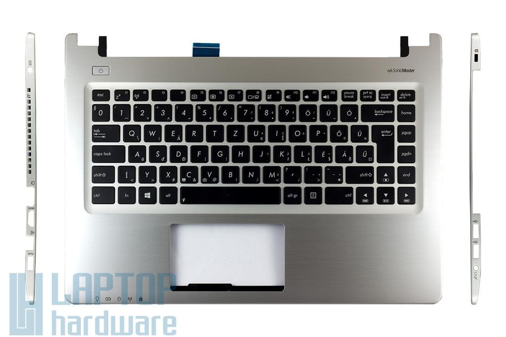 Asus K46CB, K46CM gyári új laptop felső fedél magyar billentyűzettel (90R-NTJ1K1E80U)