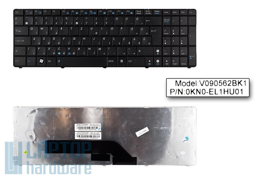Asus K50AB, K70AB gyári új magyar laptop billentyűzet (04GNV91KHU00-2)