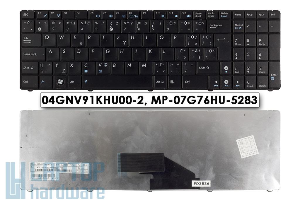 Asus K50, K51, K60, K61, K70 használt magyarított laptop billentyűzet (MP-07G76HU-5283)