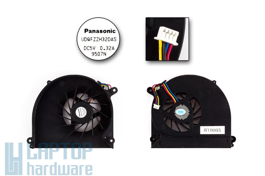 Asus K50, K60, P50 helyettesítő új laptop hűtő ventilátor (UDQFZZH32DAS)
