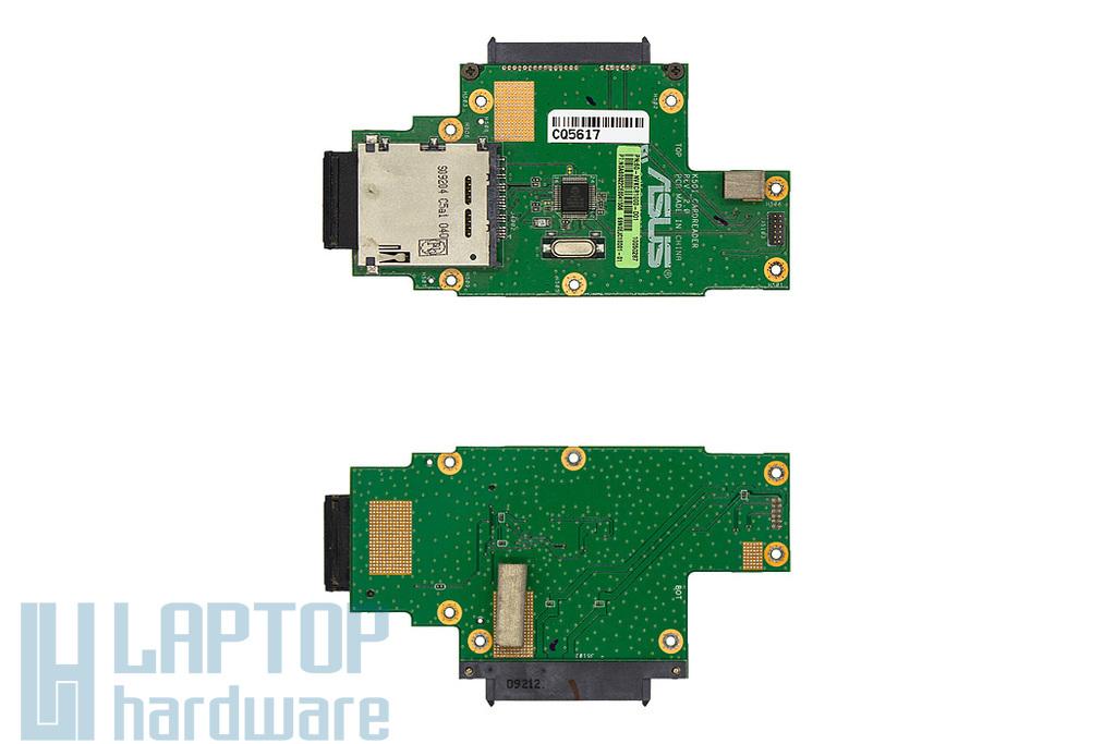 Asus K50AB, K50IJ laptophoz használt kártyaolvasó panel (60-NVKCR1000-D01)