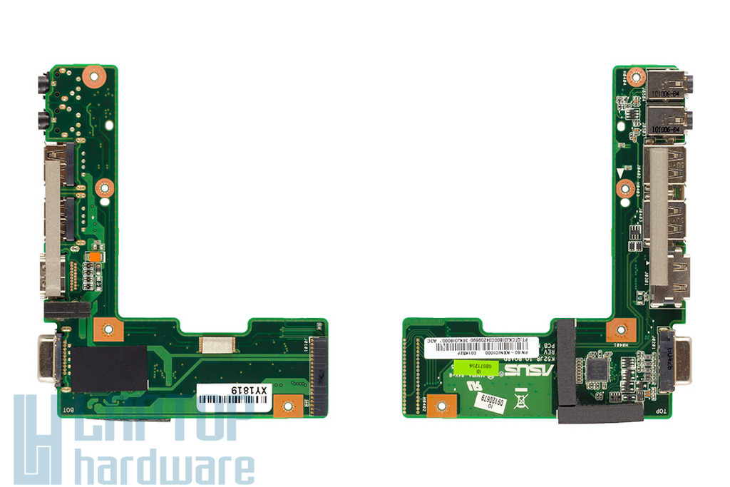 Asus K52 használt laptop VGA/HDMI/USB/Audio panel (60-NXNIO1000-C01)