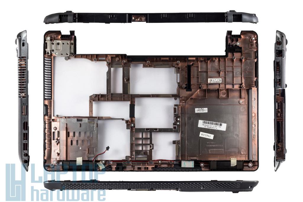 Asus K52, X52 sorozatú laptophoz használt alsó fedél hangszórókkal, 13GNXM1AP041-1