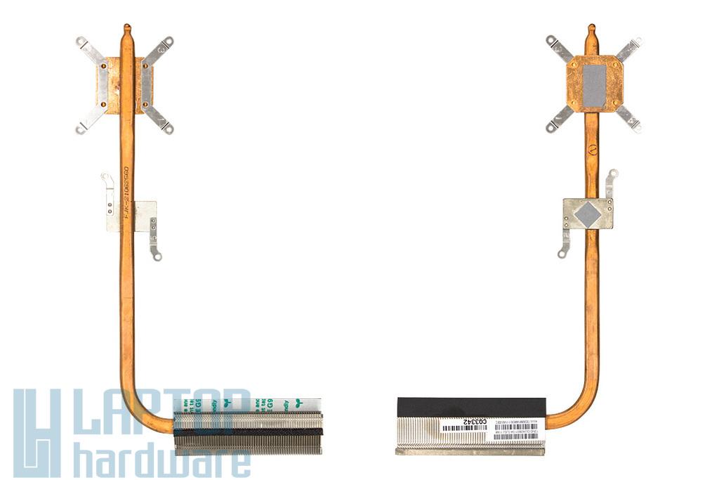 Asus K52JB, K52JE, K52JK gyári új laptop hővezető cső, hűtőborda (13GNXM1AM030-1)