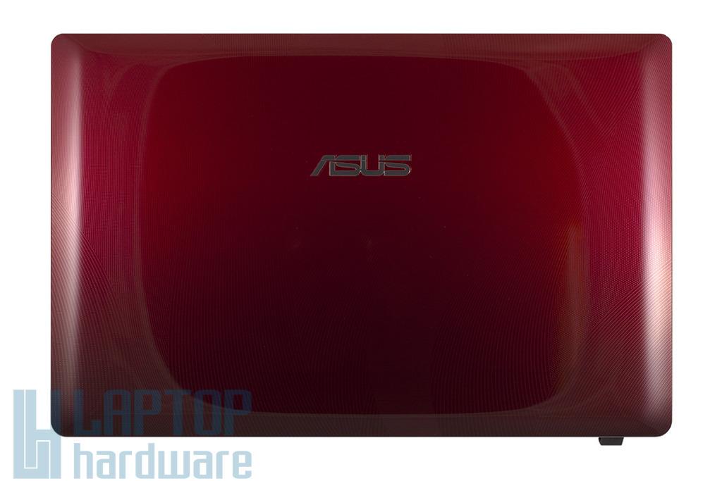 Asus K53E, K53SC, laptophoz gyári új piros B kategóriás LCD kijelző hátlap WiFi antennával, 13GN3C6AP010-1