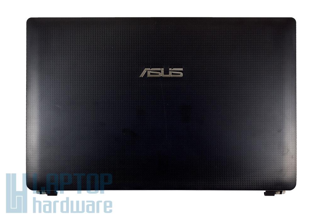 Asus K54 sorozathoz használt laptop kijelző hátlap zsanérral, mikrofonnal, WiFi-antennával (13GN7BCAP020-1)