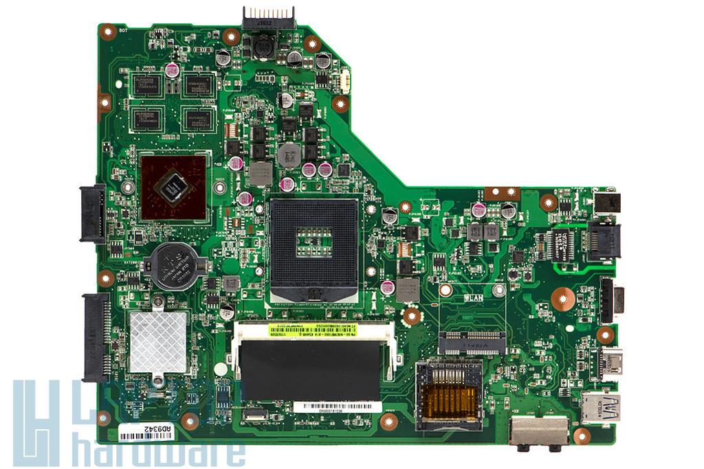 Asus K54HR, X54HR gyári új laptop alaplap (Intel rPGA989, AMD HD6470) (90R-N9EMB1000Y)