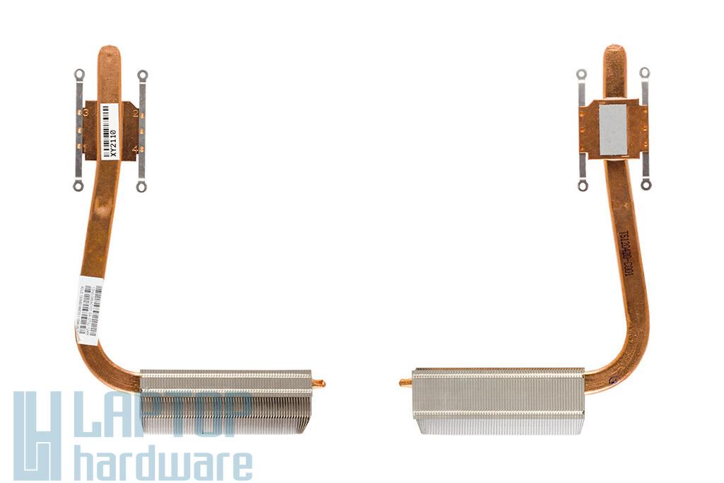 Asus K55A, U57A laptophoz használt hűtőborda, heatsink (13GN891AM010-1)