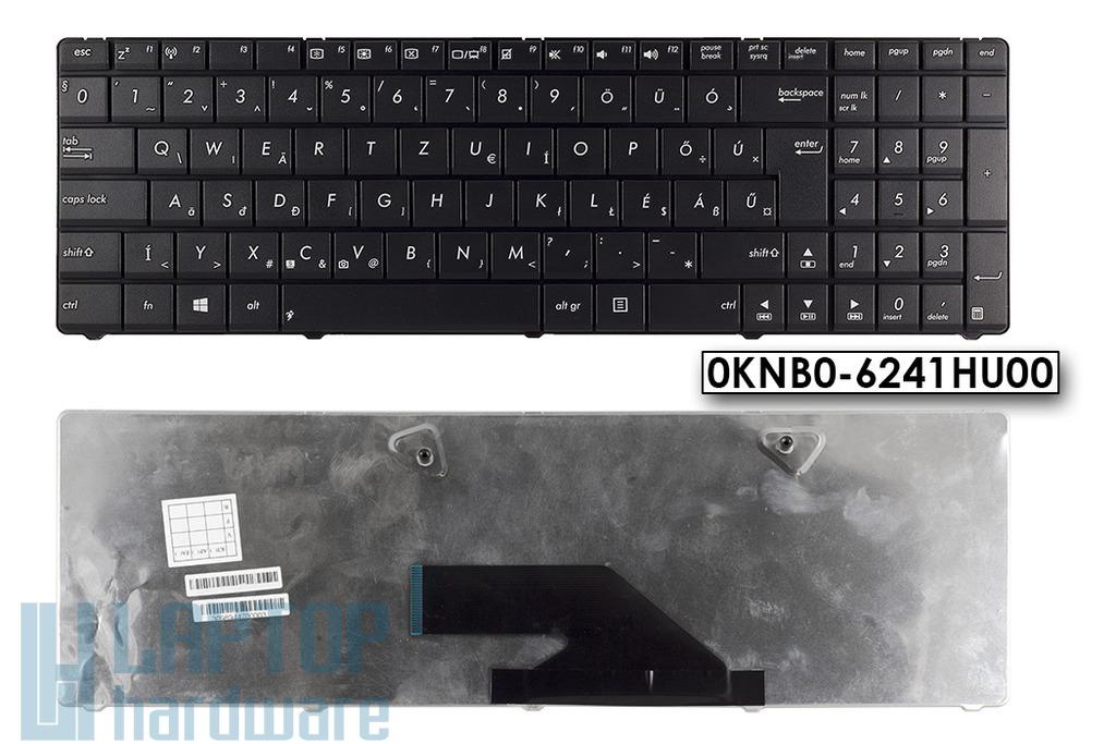 Asus K75D K75DE gyári új fekete magyar laptop billentyűzet, 0KNB0-6241HU00