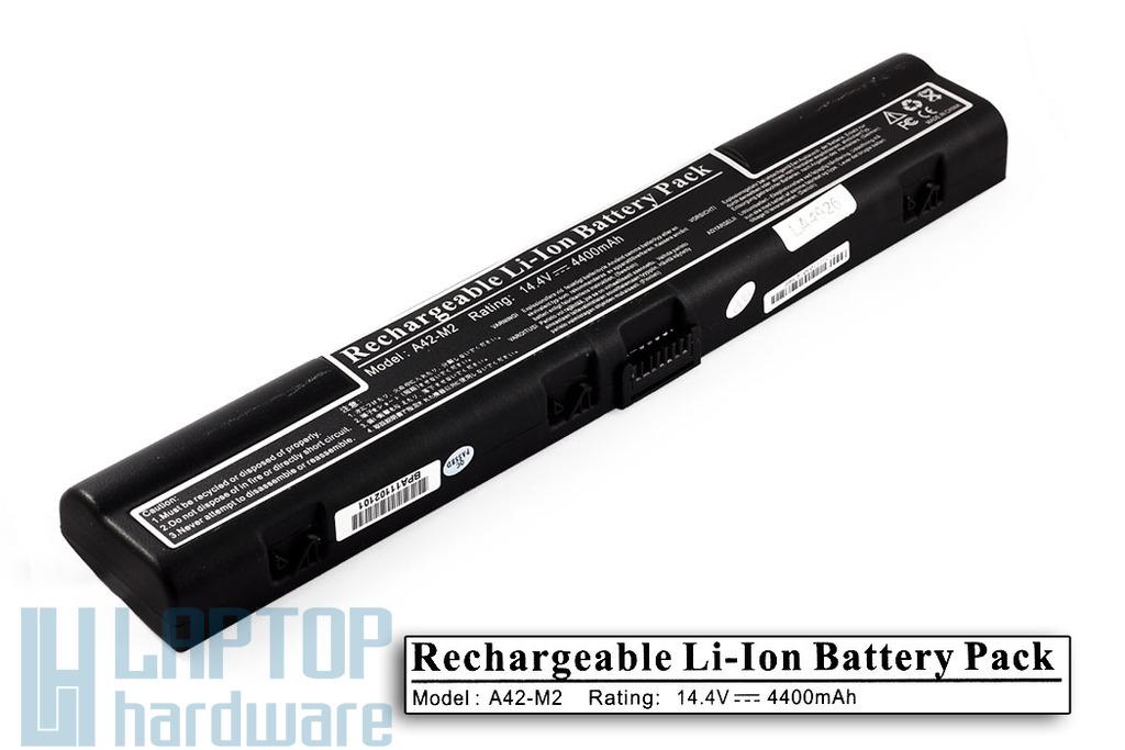 Asus L3, M2 helyettesítő új 8 cellás laptop akku/akkumulátor (A42-M2)