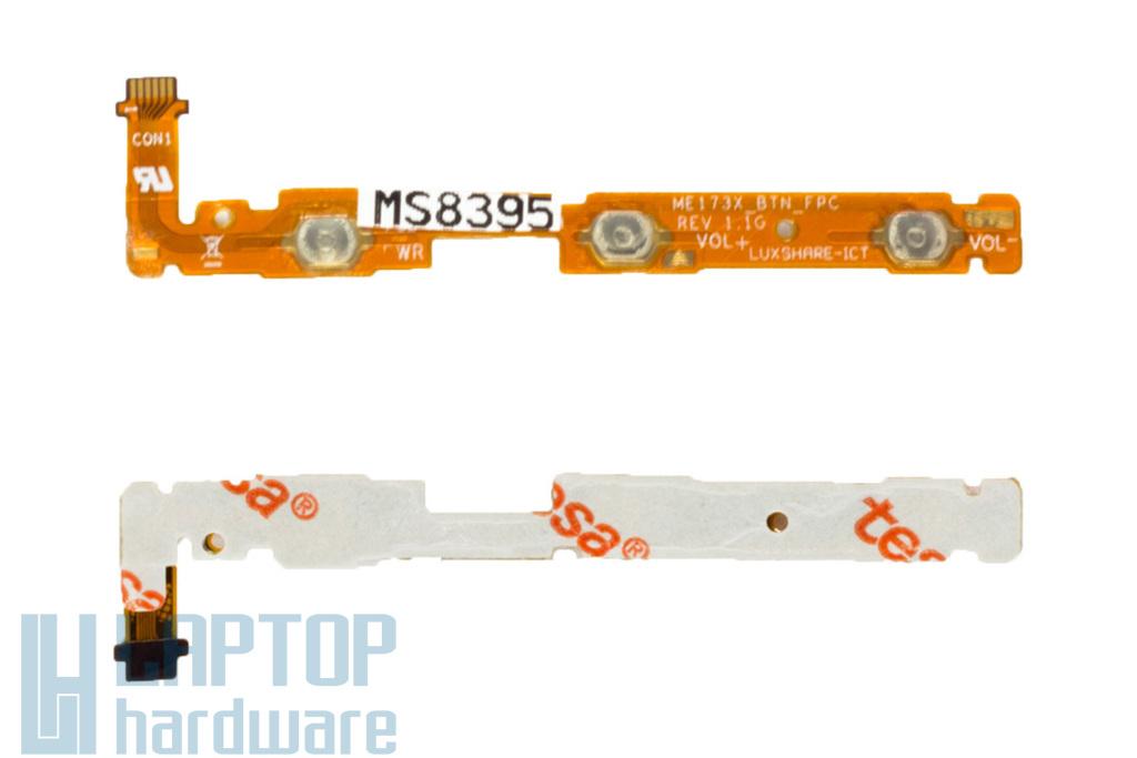 Asus MeMO Pad HD 7 (ME173X) gyári új vezérlő gombsor panel (ME173X_BTN_FPC REV.1.1G)