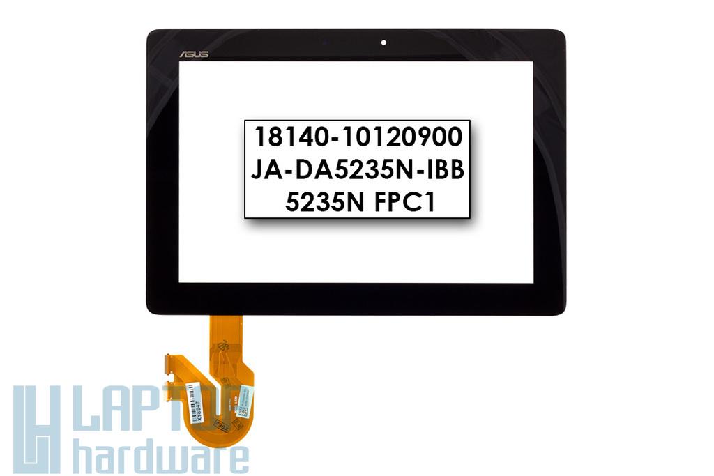 Érintő panel, touchscreen Asus MeMO Pad Smart 10.1 (ME301T), MeMOPad FHD 10 (ME302KL, ME302C) tablethez (18140-10120900, JA-DA5235N-IBB)