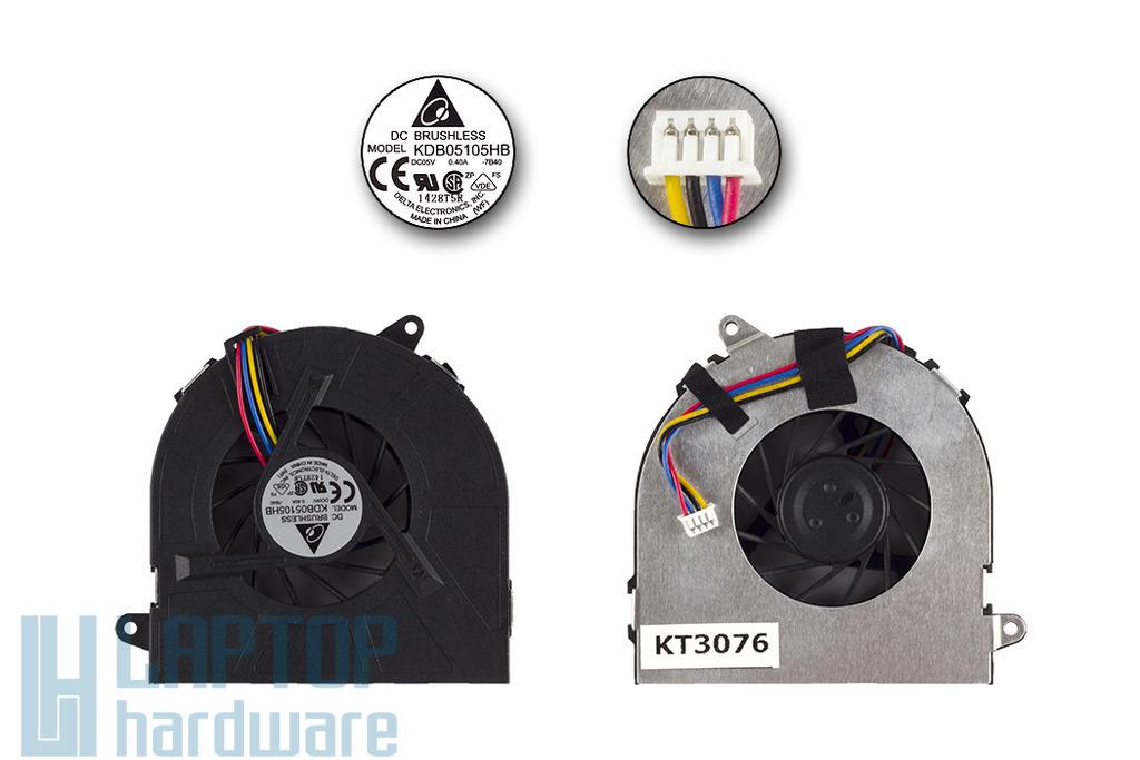 Asus N20A, U6S, U50A, Z73S gyári új laptop hűtő ventilátor (KDB05105HB 7B40)