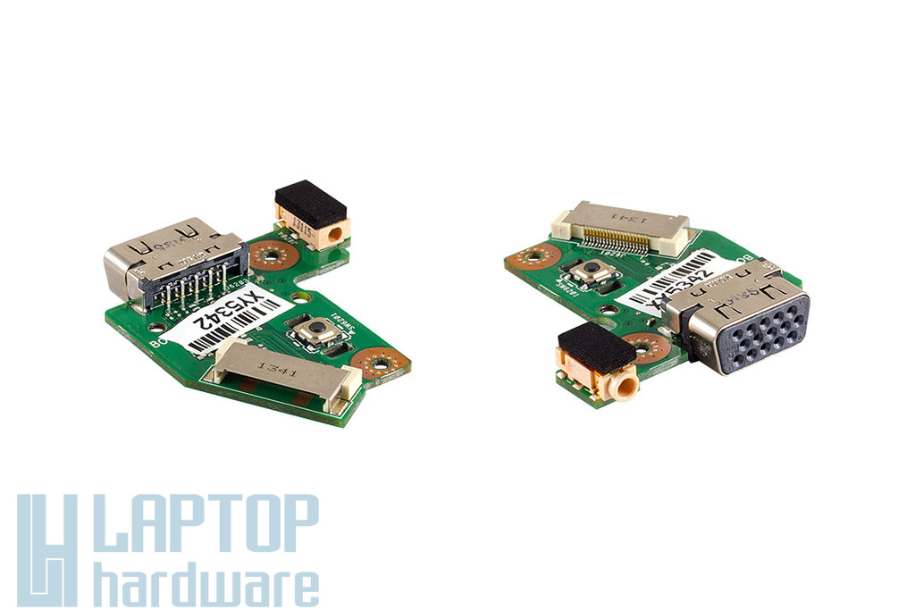Asus N56VM, N56VZ laptophoz gyári új VGA és audio panel (90R-N9JIO1000Y)