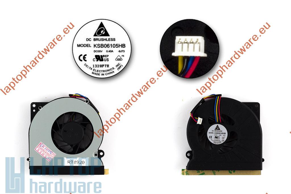 ASUS N61, N61V, N61JV, N61JQ, N61VG használt laptop hűtő ventilátor (KSB06105HB)