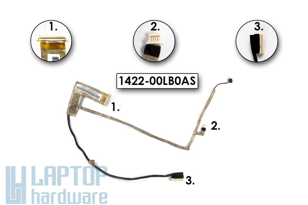 Asus N61 sorozatú laptophoz használt LCD kábel mikrofonnal, 1422-00LB0AS