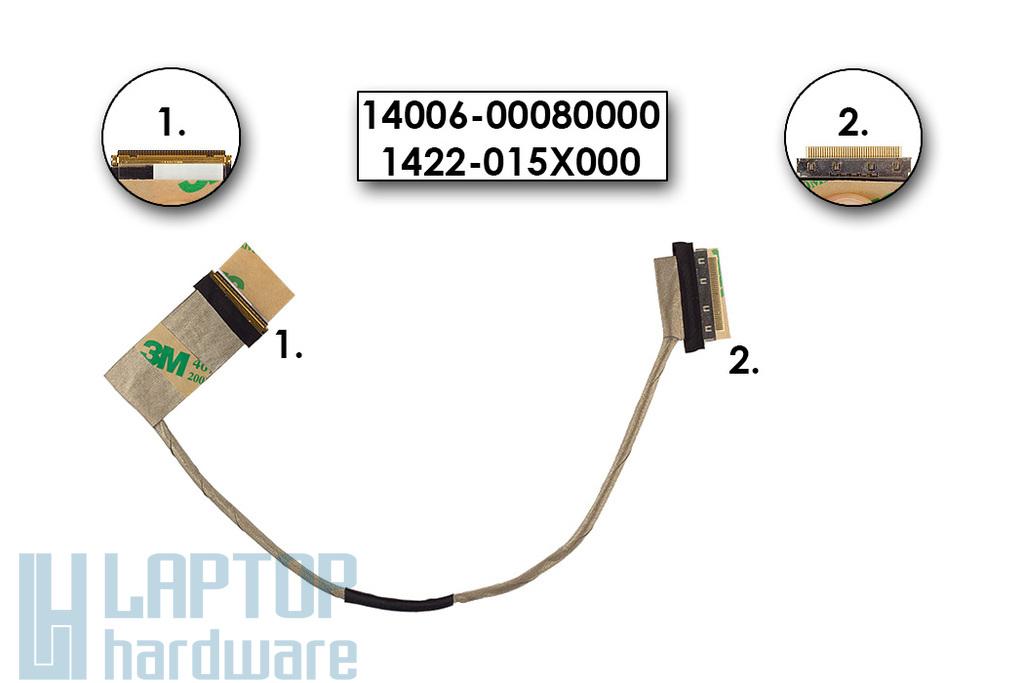 Asus N76 sorozatú laptophoz gyári új LCD kábel, 14006-00080000