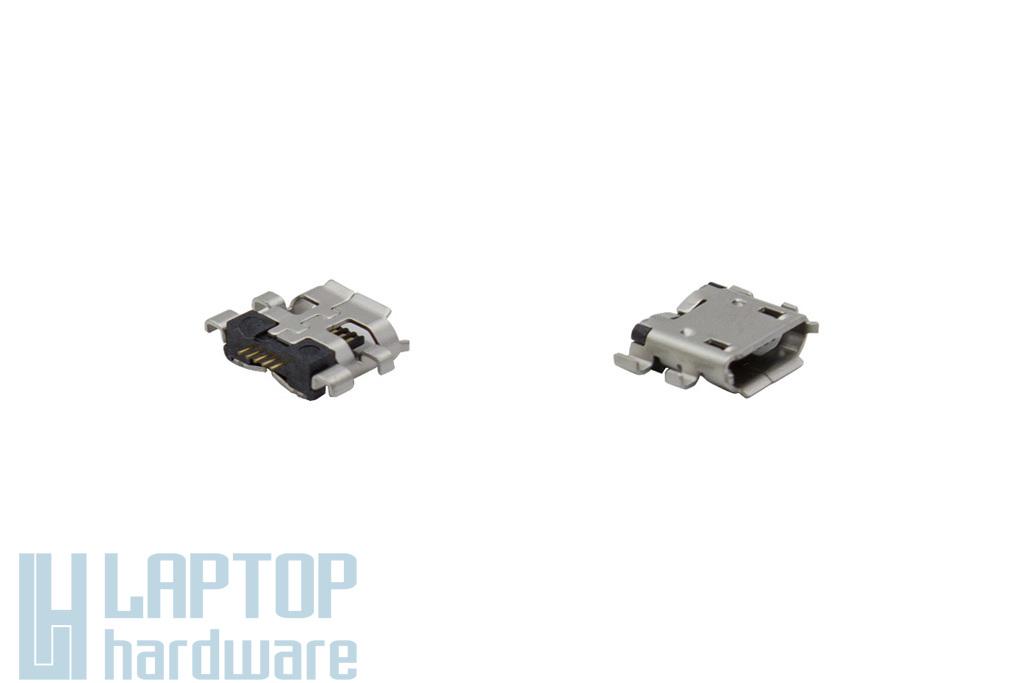 Asus Nexus 7 (ME571K) gyári új micro USB csatlakozó, 4 pin