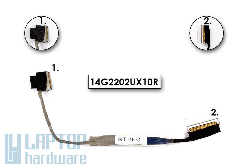 Asus S121 laptophoz használt LCD kábel, 14G2202UX10R