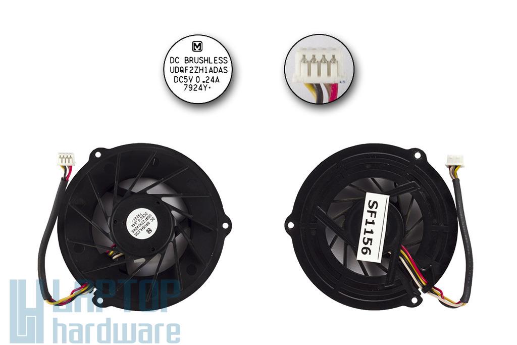 Asus S96J, Z96JS használt laptop hűtő ventilátor (UDQF2ZH1ADAS)