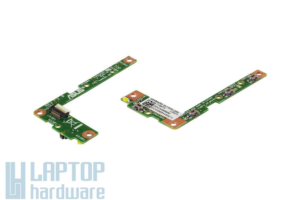Asus Transformer Book T100TA gyári új bekapcsoló panel és hangerő szabályzó, 60NB0450-SW1020