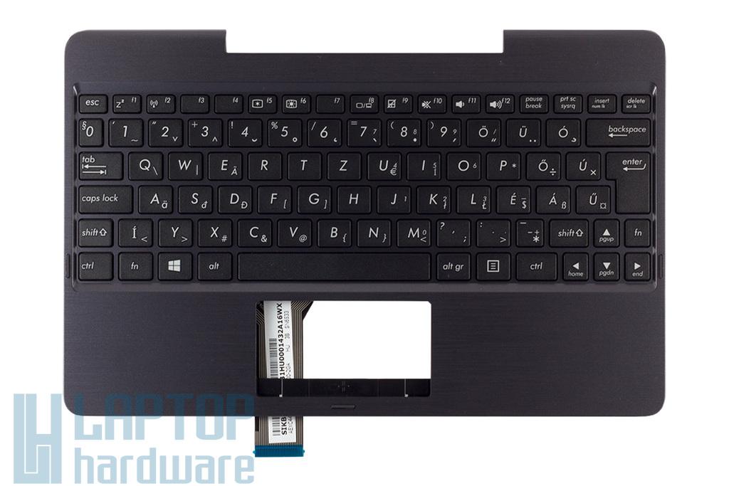 Asus Transformer Book T100TA gyári új magyar fekete-szürke laptop billentyűzet modul (90NB0451-R30131)