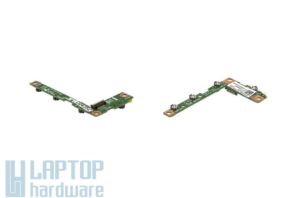 Asus Transformer Book T100TA használt bekapcsoló panel és hangerő szabályzó, 60NB0450-SW1020