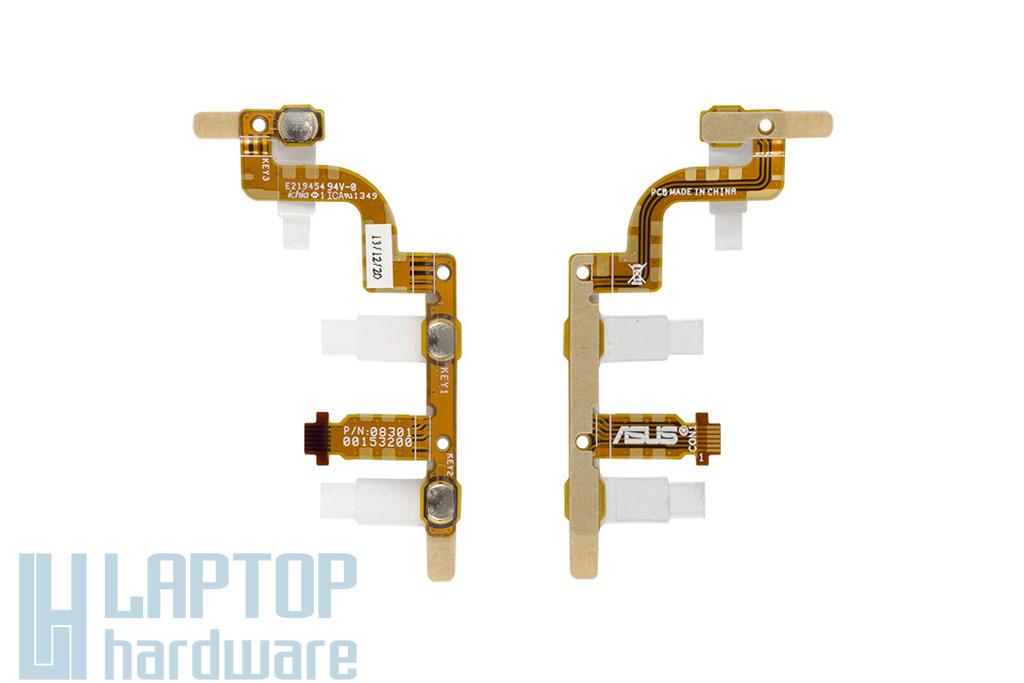 Asus Transformer Pad TF300T gyári új bekapcsoló panel és hangerő szabályzó, 08301-00153200
