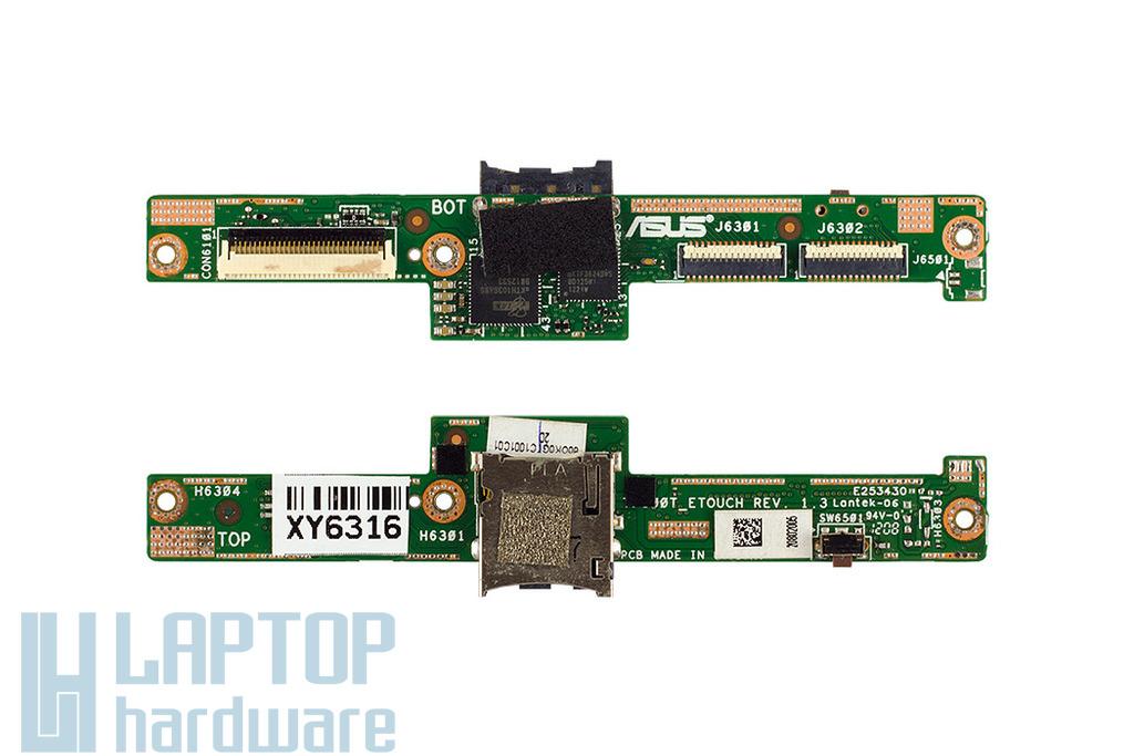 Asus Transformer Pad TF300T használt kártyaolvasó / digitizer csatlakozó panel (90R-OK0GTC10000W)