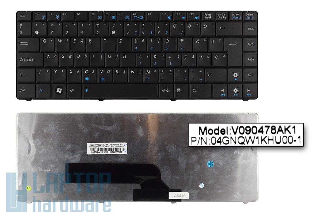 Asus K40IE gyári új magyar laptop billentyűzet, 04GNQW1KHU00-1