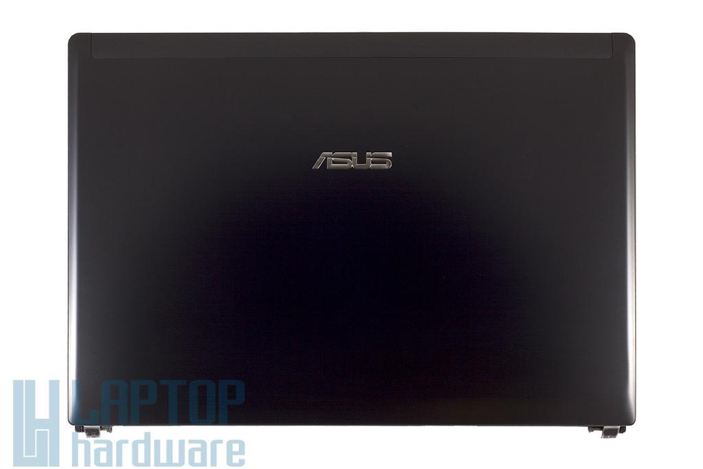 Asus U30JC, U30SD laptophoz gyári új LCD hátlap WiFi antennával és zsanér párral, fekete, 13GNXZ1AM044-1