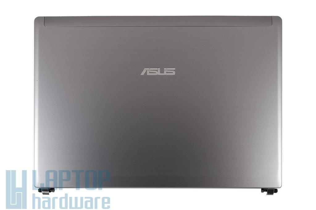 Asus U30JC, U30SD laptophoz gyári új LCD hátlap WiFi antennával, zsanér párral, szürke, 13GNXZ1AM044-1