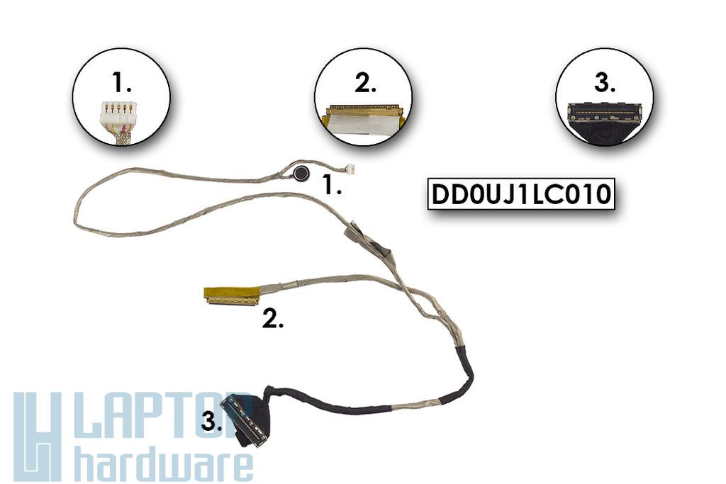 Asus U32U használt laptop LCD kijelző kábel, DD0UJ1LC010