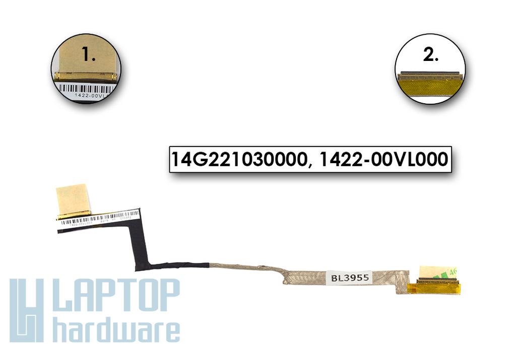 Asus U36 laptophoz gyári új LCD kábel, 14G221030000