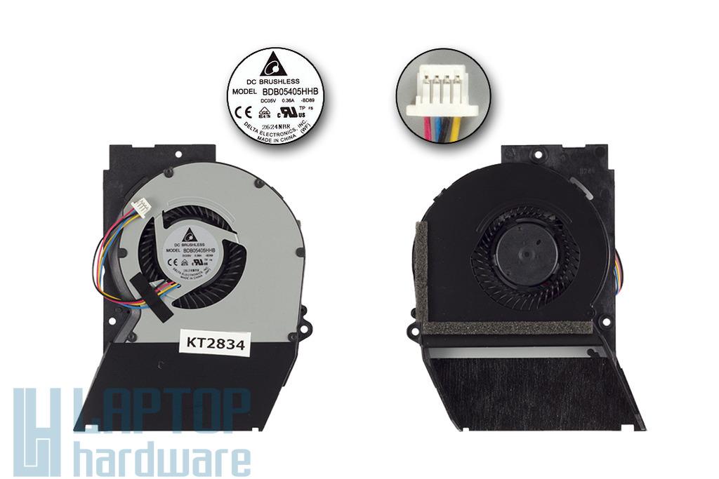 ASUS U36SD, U44SG gyári új laptop hűtő ventilátor (13GN5S10P030-1)
