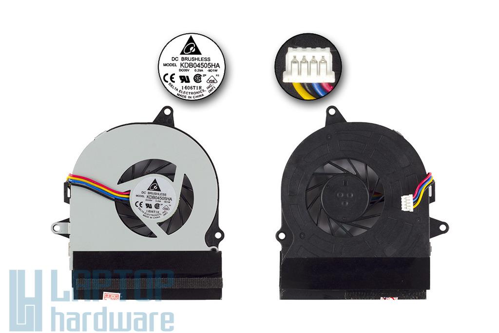 Asus UL30A gyári új laptop hűtő ventilátor, 13GNWT10T011-1