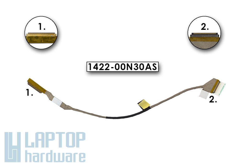 Asus UL30A UL30VT UL30J gyári új laptop LCD kábel, 1422-00N30AS
