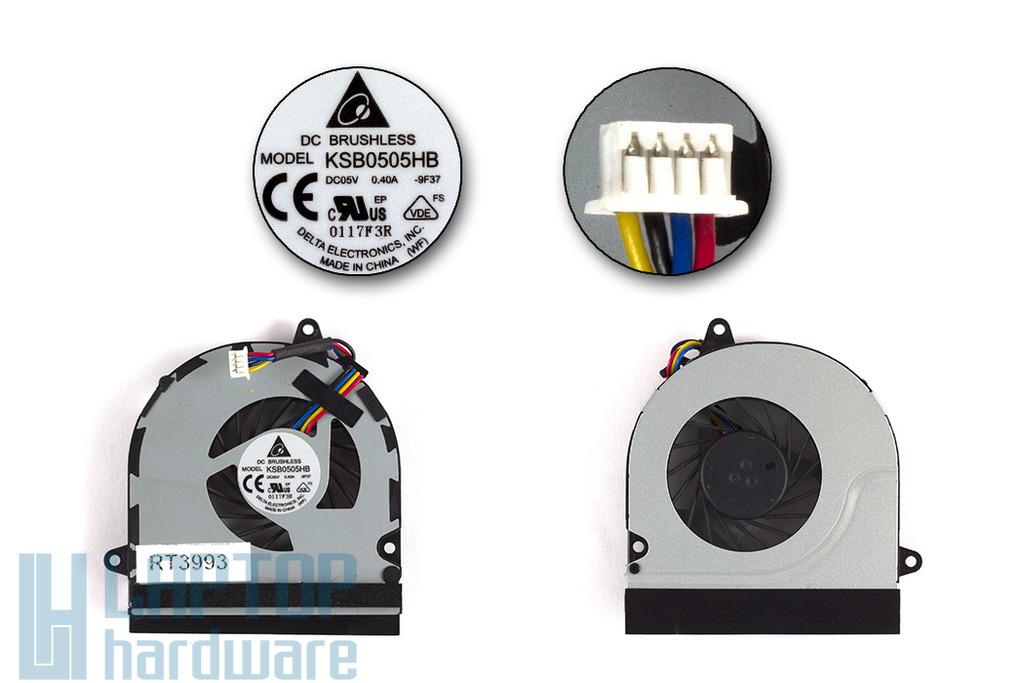 ASUS UL50 használt laptop hűtő ventilátor, KSB0505HB