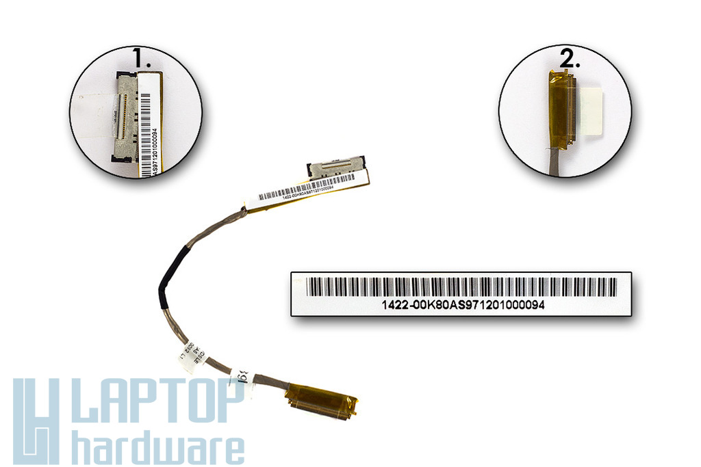 Asus UX30 laptophoz gyári új LCD kábel, 14G2203EA10U