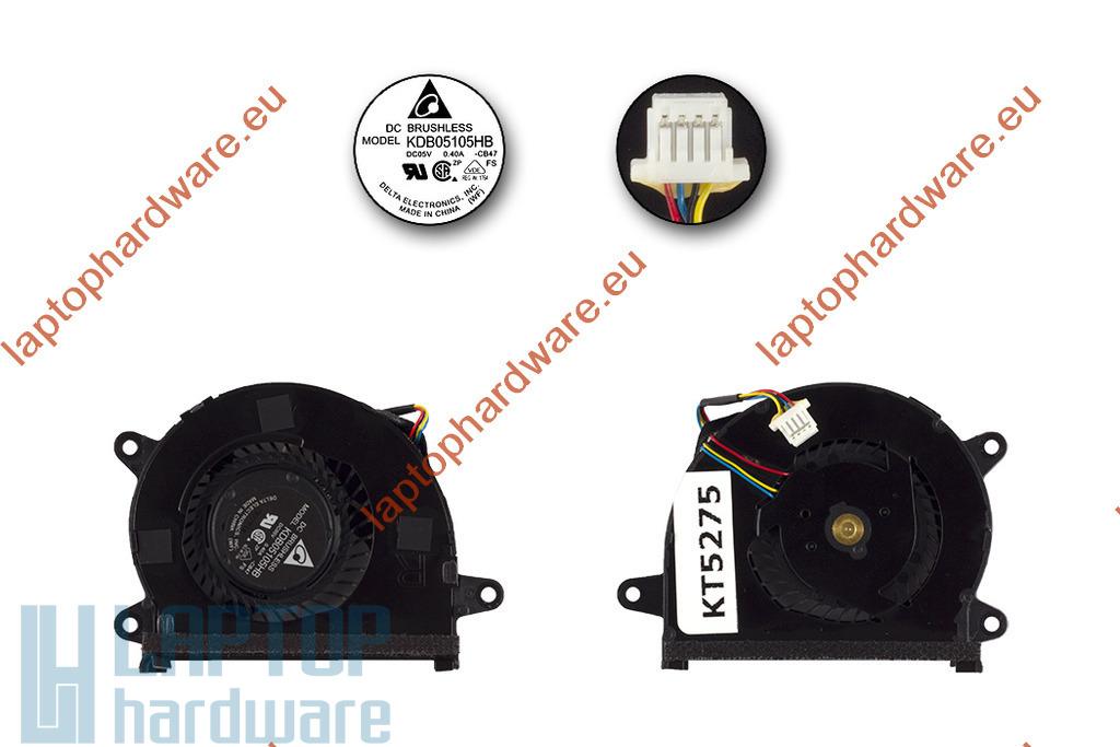 Asus UX32A, UX32VD, UX32LA laptop CPU hűtőventilátor, KDB05105HB-CB47