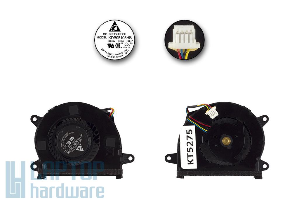 Asus UX32A, UX32VD, UX32LA használt laptop CPU hűtőventilátor, KDB05105HB-CB47