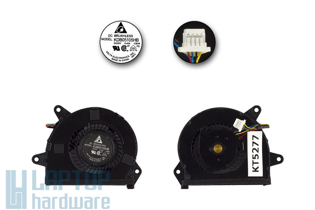 Asus UX32A, UX32VD, UX32LA használt laptop VGA hűtőventilátor, 13GNPO10P110-1, KDB05105HB-CB48