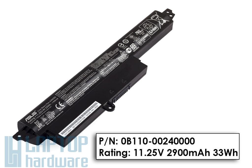 Asus X200CA gyári új 4 cellás laptop akku/akkumulátor (A31N1302, 0B110-00240000)