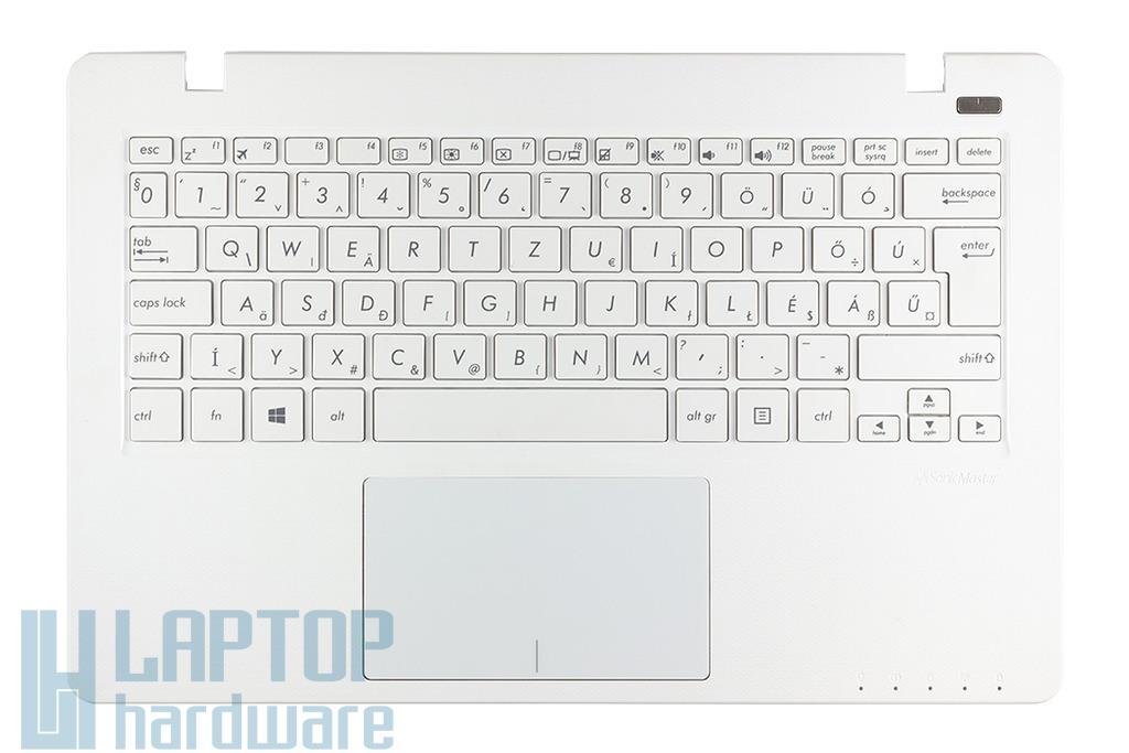 Asus X200MA, X200CA gyári új fehér magyar laptop billentyűzet modul touchpaddal (13NB03U1AP0301; 90NB04U1-R31HU0)
