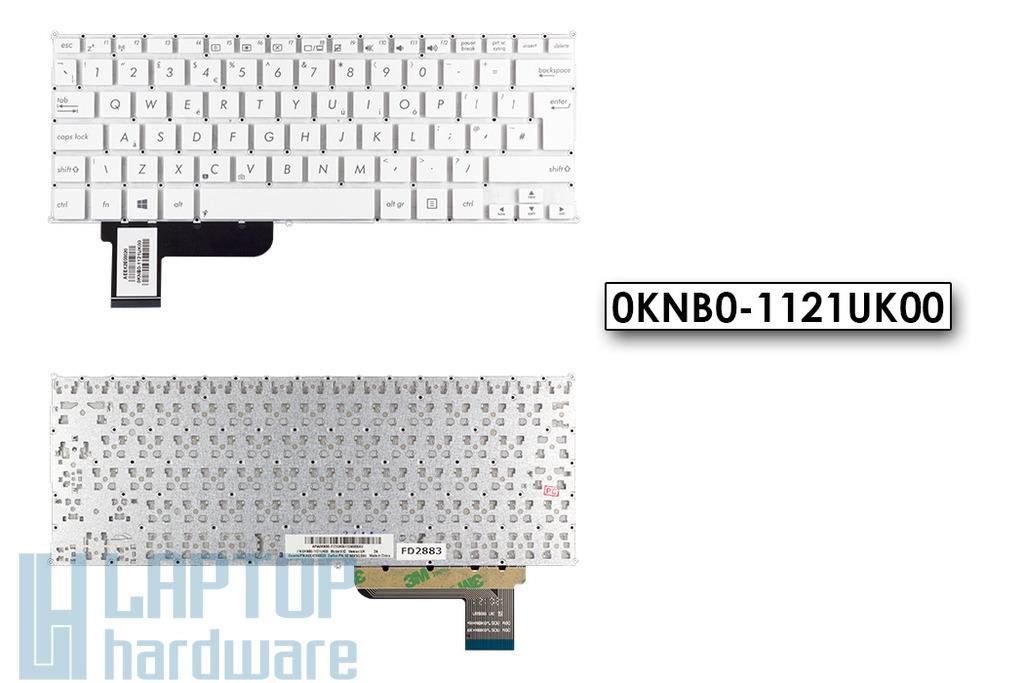 Asus X201E, X202E UK angol laptop billentyűzet, 0KNB0-1121UK00