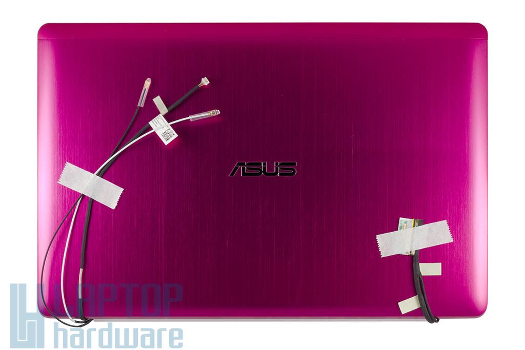 """Asus X202E 11,6"""" gyári új laptop LCD kijelző modul pink hátlappal, 90R-NFQ2L2100U"""