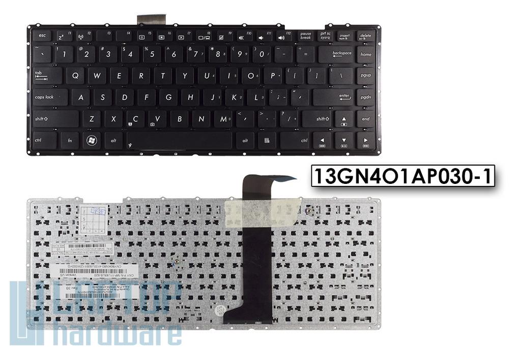 Asus X401, X401A, X401U US angol laptop billentyűzet, 13GN4O1AP030-1