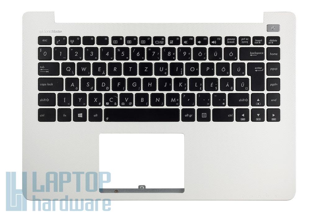 Asus X402CA gyári új magyar fehér laptop billentyűzet modul, 90NB0092-R31HU0