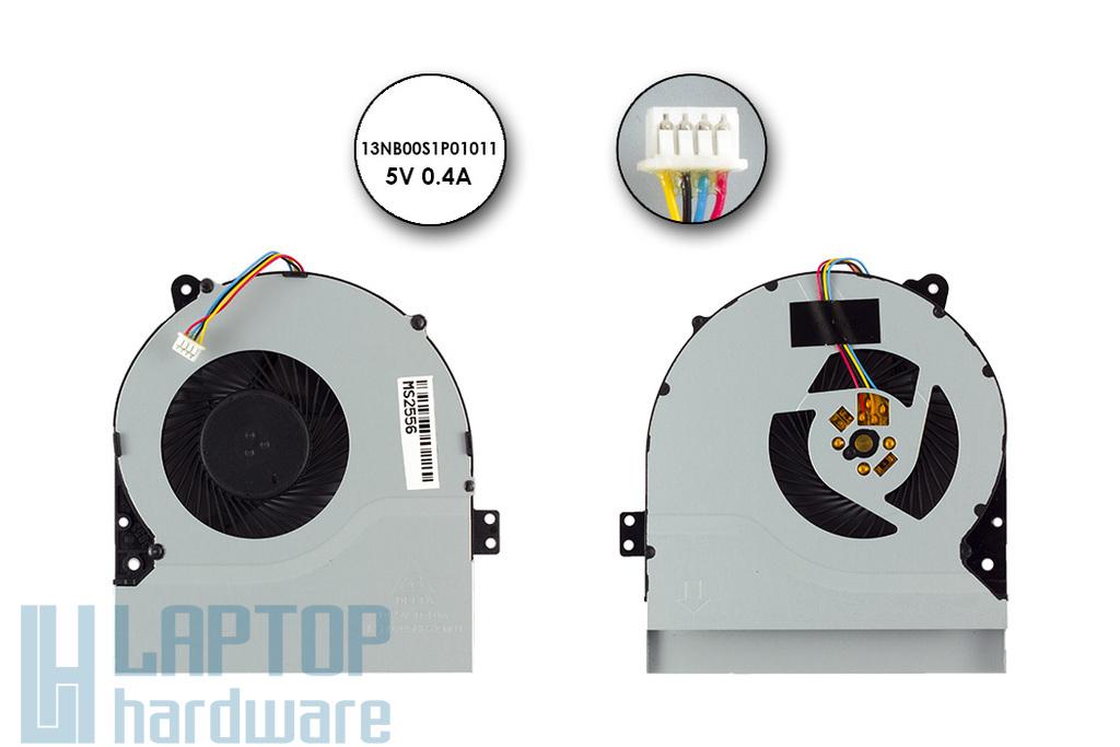 Asus X450, X550 gyári új laptop hűtő ventilátor (13NB00S1P01011)