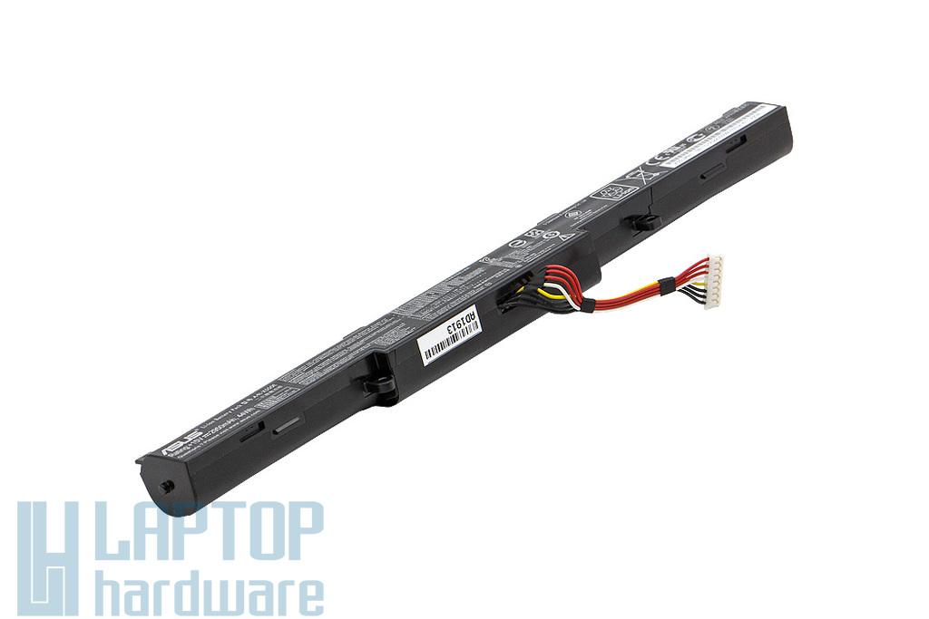 Asus X450JB, X550ZA, X750JN, X751LA gyári új 4 cellás laptop akku/akkumulátor (A41-X550E, 0B110-00220000)